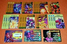 OVERPOWER Sentinels PLAYER SET 3 hero 18 sp Nimrod Master Mold Learning Circuits