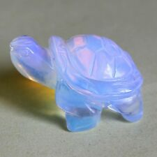 g1382  42mm Hand Carved opalite turtle figurine