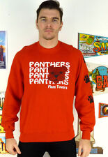 MENS VINTAGE PANTHERS PLAZA USA SPORTS SWEATSHIRT SWEATER JUMPER HIPSTER L