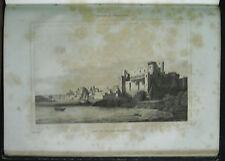 1850,= PORTO E CASTELLO DI BRINDISI =PUGLIA. ACCIAIO.Italie.Pittoresque.ETNA