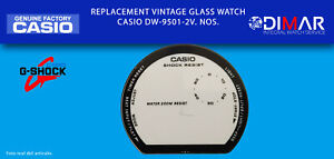 Replacement Original Watch Glass Casio G-Shock. DW-9501-2V. NOS