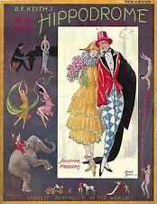 Madame SOPHIE TUCKER at the Hippodrome / B. F. Keith's Vaudeville 1924 Program