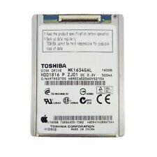 "Toshiba MK1634GAL 1.8"" ZIF 160GB Hard Disk Drive iPod Classic 6th 7th Gen Gr B"
