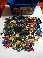 KNEX Rods Connectors Mixed Lot Standard Replacement Parts K'NEX Boat Wheels