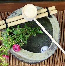 Tsukubai Japonais Japonais Jardin Lavabo Thé Ceremonie Shigaraki Yaki Poterie