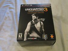 PS3 Uncharted 3 Drake's Deception Collector's Edition Video Game
