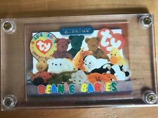Beanie Baby Official Club Issued Card June 25 1994 - Sealed Acrylic Case