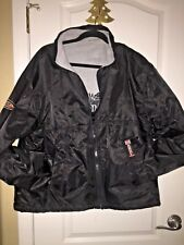 HARLEY DAVIDSON MEN'S REVERSIBLE HEAVY COAT JACKET  XL