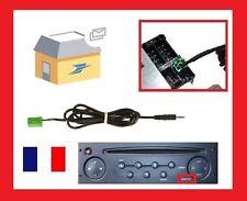 Cable auxiliaire mp3 autoradio RENAULT UDAPTE LIST 6 pin, megane 2 clio neuf