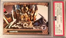 Peter Cullen Transformers Optimus Prime Signed 2013 Breygent Graded PSA 8 AUTO 6