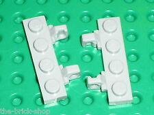 2 x LEGO MdStone hinge plate 44568 / Set 10143 10189 10178 6209 10188 7663 7676