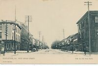 HAZLETON PA - West Broad Street Tuck Postcard - udb (pre 1908)