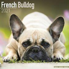 French Bulldog Calendar 2021 Premium Dog Breed Calendars
