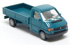 Wiking - VW Volkswagen T4 Bus Pritsche grün türkis neutral - 1:87 H0