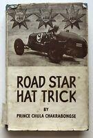 Road Star Hat Trick Book Vintage Motor Racing 1945 Rare B.Bira Cars