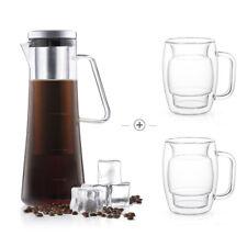 JoyJolt Cold Brew Coffee Maker, and Mug Set