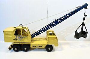 Vintage Nylint Michigan Crane T-24Clark Equipment Rockford,Il