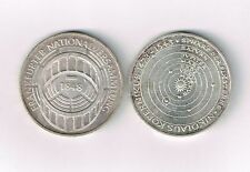 Lot von 2 x 5 Mark BRD, Silbermünzen, Kopernikus und Nationalversammlung