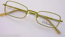 H. Maheo Mädchenbrille unisex Apfelgrün Federbügel stabil günstig neu size K