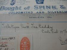 More details for count vincenz baillet de latour  of dunvegan 1903 spink georgian tea caddy