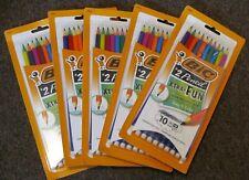 New listing 50 Bic Xtra Fun #2 Pencil Break Resistant Lead Non Toxic Latex Free Erase