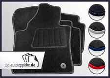MERCEDES BENZ CLASSE C w203 100% vestibilità Tappetini Nero Argento Rosso Blu