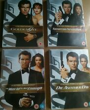 James Bond 4 Pierce Brosnan DVDs 2 Disc Ultimate Edition Sealed Unused Free Post