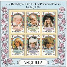 (74875) Anguilla MNH Prince Harry Birth minisheet 1984 unmounted mint