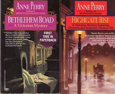 Complete Set Series -- Lot of 32 Charlotte and Thomas Pitt Mysteries Anne Perry