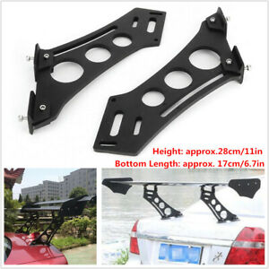 """Car SUV Tail Spoiler Stand CNC Rear Wing Trunk Racing  Legs Mount Brackets 10"""""""