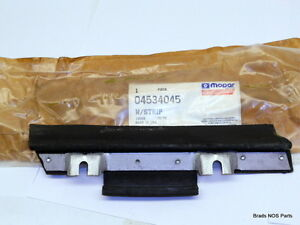 NOS MoPar 1988-95 Chrysler LeBaron Convertible LEFT QTR WDO BELT W/STRIP 4534045