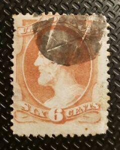 Schöne uralte Klassik Briefmarke weltweit aus den USA