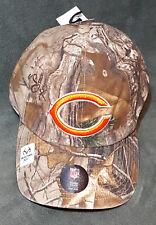 47 Brand Chicago Bears Camo Realtree Hunting Football Hat Cap Adjustable