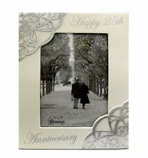 Happy 25th Anniversary Photo Frame Holds  5x7 Inch Photo (10373)