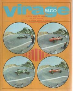 VIRAGE AUTO 1966 7-8 SPECIAL CABRIOLETS 24H DE FRANCORCHAMPS MANS NURBURGRING