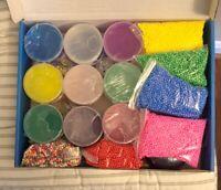 DIY Slime Kit, Crystal Slime Making Kit For Girls Boys, Bonus Slime *Retail $35*
