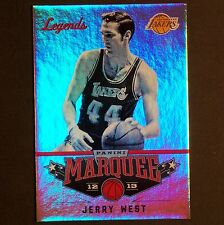 JERRY WEST 2012/13 Panini Marquee Legends #105 Los Angeles Lakers single