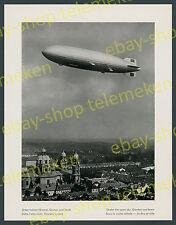 Aeronave LZ 130 Graf Zeppelin II. viaggio Hofgarten Theatinerkirche Monaco 1939