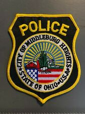 MIDDLEBURG HEIGHTS OHIO POLICE PATCH