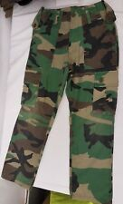 "Kids Army Trousers DPM Cadets Camouflage Airsoft 24"" Waist"