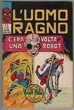 L' UOMO RAGNO corno N.31 C' ERA UNA VOLTA UN ROBOT 1971 ant-man & wasp NO RESA