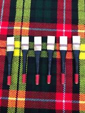 Uilleann Bagpipes Chanter Reeds of Spanish Cane 6 pcs Black/uillean pipes Reeds