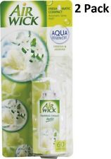 2 X Air Wick Freshmatic Compact Automatic Spray 24ml Refill - Freesia & Jasmine