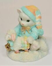 1992 Enesco Calico Kittens Priscilla Hillman Ewe Warm My Heart Figurine 626182