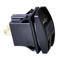 Wasserdicht Dual USB LadegerAt 3.1A LED 12-24V Charger Port Für Motorrad Auto