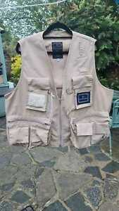 Hardy Fly Fishing Short Waistcoat Vest Jacket House of Hardy Salmon Trout XL
