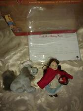 "BARBIE COLLECTIBLES LITTLE RED RIDING HOOD 4½"" DOLL SET 2001"
