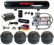 Accuair VU4 Manifold SwitchSpeed 400 Pewter Air Compressors Air Tank 2600 Bags