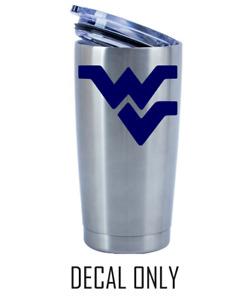 West Virginia Mountaineers Football Decal for NCAA 20 30 Ozark YETI RTIC Sticker