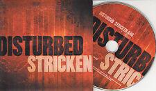 DISTURBED Stricken 2005 UK 1-track promo CD card sleeve
